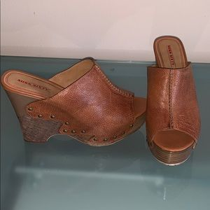 """Miss Sixty"" Wedges  38.5 as new (worn once)"
